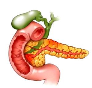 фото поражения при панкреотите