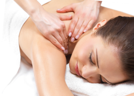на фото медицинский массаж